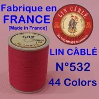린카블레 532 (LIN CABLE MAROQUINERIE,린넨사, FIL AU CHINOIS)[가죽공예]