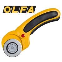 OLFA 안전 로타리 커터 45mm(L형 156B) [가죽공예]