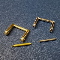 이태리 사각링25mm(2Colors) [가죽공예]